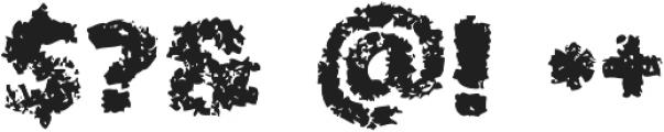 Cinnamon Regular otf (400) Font OTHER CHARS