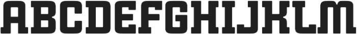 Cintra Slab Solid Regular otf (400) Font LOWERCASE