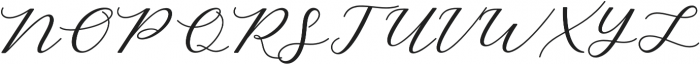 Cintya Script otf (400) Font UPPERCASE