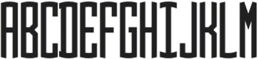Circle Monogram 3 Letter otf (400) Font UPPERCASE