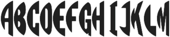 Circle Monogram Left ttf (400) Font UPPERCASE