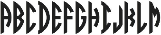 Circle Monogram (Legacy) 3 Letter - Right otf (400) Font UPPERCASE