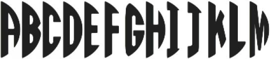 Circle Monogram Right ttf (400) Font UPPERCASE