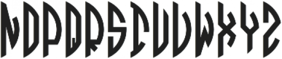 Circle Monogramm Right otf (400) Font UPPERCASE