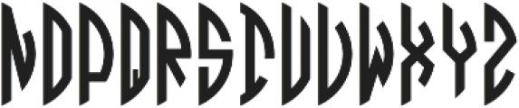 Circle Monogramm Right otf (400) Font LOWERCASE