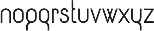 Circularis Alt otf (400) Font LOWERCASE