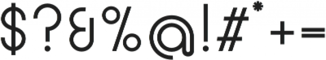 Circularis otf (400) Font OTHER CHARS