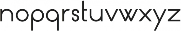 Circularis otf (400) Font LOWERCASE