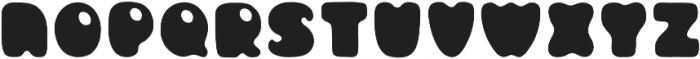 Circus Bold ttf (700) Font UPPERCASE