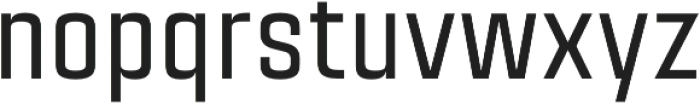 Citadina Medium Regular otf (500) Font LOWERCASE