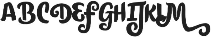 Citronela Bold otf (700) Font UPPERCASE