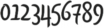 Citronela Display1 otf (400) Font OTHER CHARS