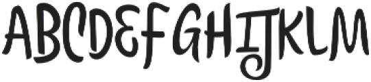 Citronela Display1 otf (400) Font UPPERCASE