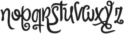 Citronela Display2 otf (400) Font LOWERCASE