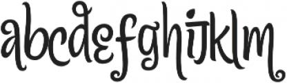 Citronela Display3 otf (400) Font LOWERCASE