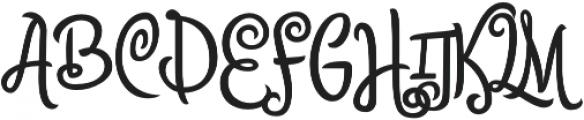 Citronela Display4 otf (400) Font UPPERCASE