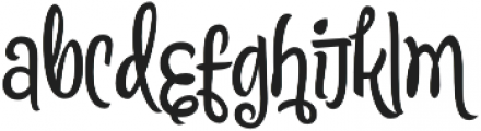 Citronela Display4 otf (400) Font LOWERCASE