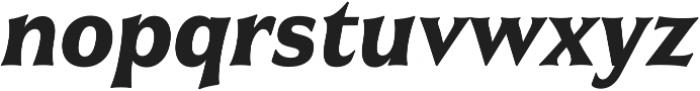 Civane Cond Bold Italic otf (700) Font LOWERCASE