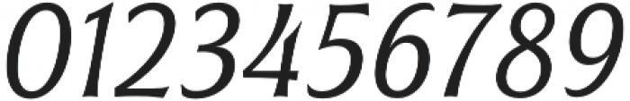 Civane Cond Book Italic otf (400) Font OTHER CHARS