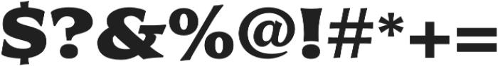 Civane Ext Black otf (900) Font OTHER CHARS