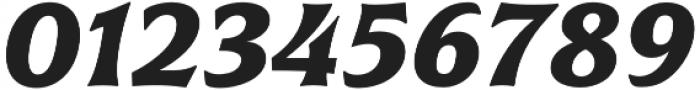 Civane Ext Bold Italic otf (700) Font OTHER CHARS