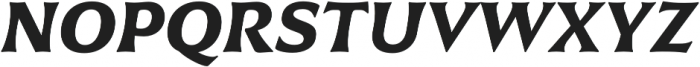 Civane Ext Bold Italic otf (700) Font UPPERCASE