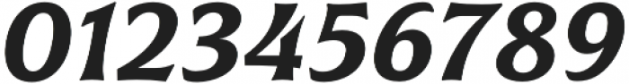 Civane Ext Demi Italic otf (400) Font OTHER CHARS