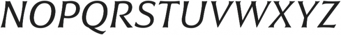 Civane Ext Regular Italic otf (400) Font UPPERCASE