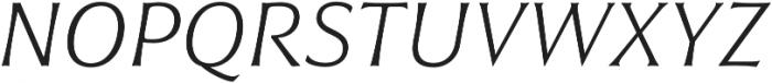 Civane Ext Thin Italic otf (100) Font UPPERCASE