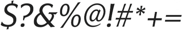 Civane Norm Regular Italic otf (400) Font OTHER CHARS