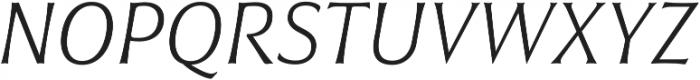 Civane Norm Thin Italic otf (100) Font UPPERCASE