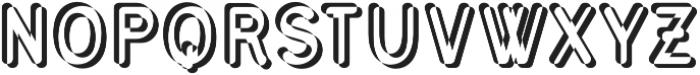 Civic Sans Balloon Extract otf (400) Font UPPERCASE