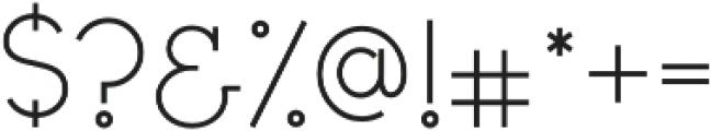 Civic Sans Light otf (300) Font OTHER CHARS