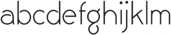 Civic Sans Light otf (300) Font LOWERCASE