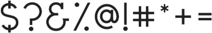 Civic Sans Medium otf (500) Font OTHER CHARS