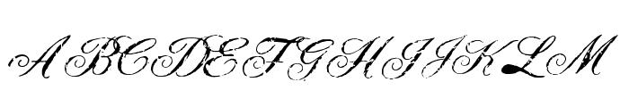Civilian Font UPPERCASE