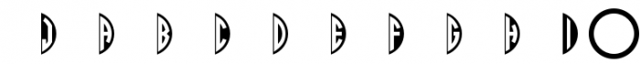 Circle Monograms Font OTHER CHARS