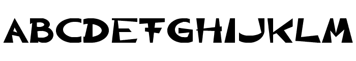CIRCLINE Heavy Font UPPERCASE
