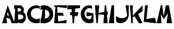 CIRCLINE Font UPPERCASE