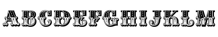 CIRcusCapsOpti Font LOWERCASE