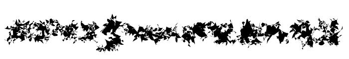 CISF Camouflage Kit Modernized Font UPPERCASE
