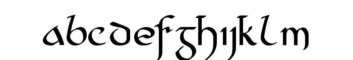Cianan-ur Regular Font LOWERCASE