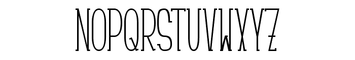 Ciao Font UPPERCASE