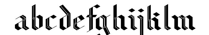 CiberGotica Font LOWERCASE