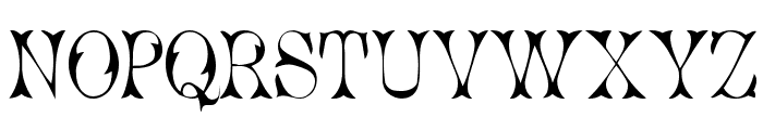 Cicero 1 Font UPPERCASE
