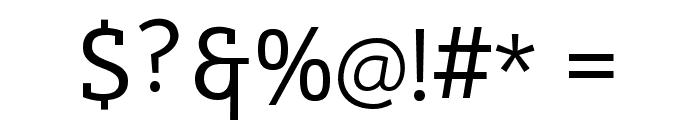 Cicero Serif Font OTHER CHARS