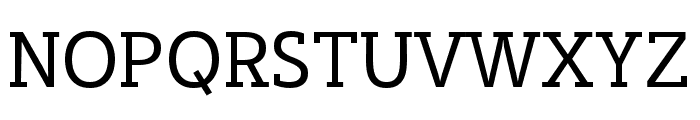 Cicero Serif Font UPPERCASE