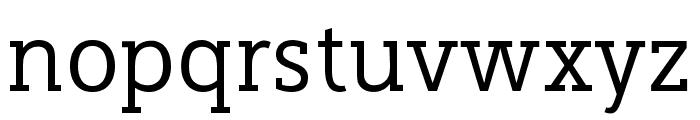 Cicero Serif Font LOWERCASE