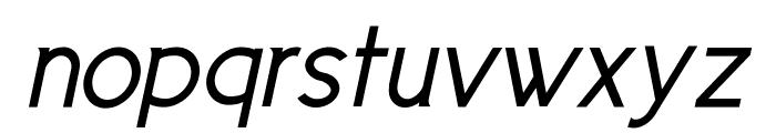 Cicle Gordita Italic Font LOWERCASE