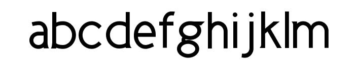 Cicle Gordita Font LOWERCASE